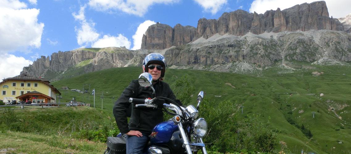 Tour In Moto Passo Delle Erbe Altopiano Del Renon Passo