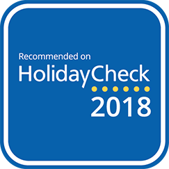 Recommended on HolidayCheck